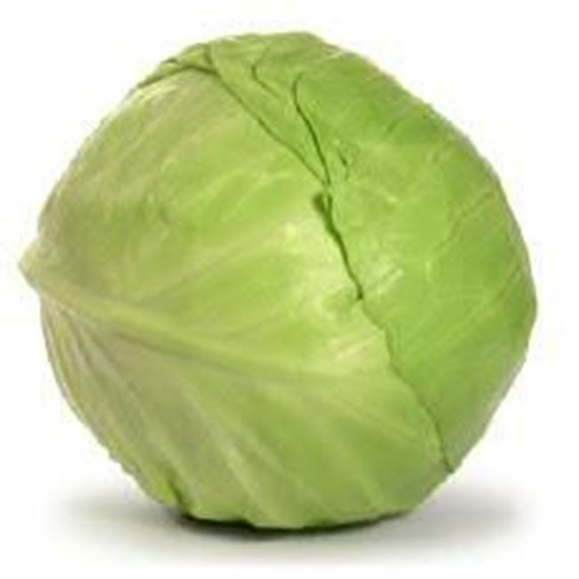 Picture of Cabbage Green per half