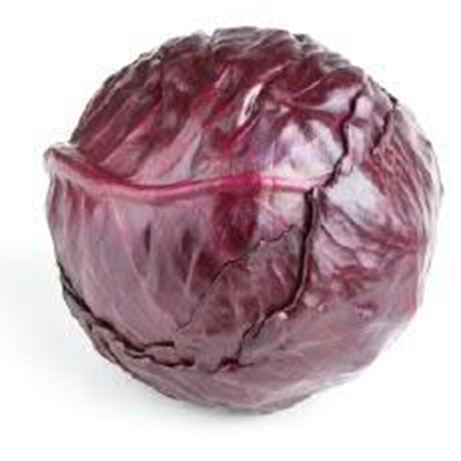 Picture of Cabbage Red per half